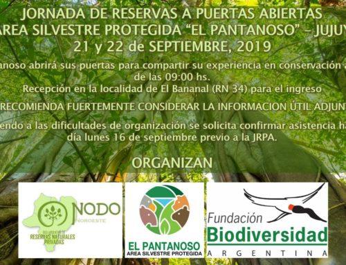 Próximamente Jornada de Puertas Abiertas de la Red de Reservas Naturales Privadas del nodo NOA