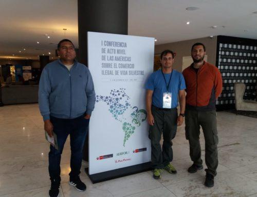La Fundación Biodiversidad participó invitada en dos eventos sobre Tráfico Ilegal y Manejo Sostenible de Vida Silvestre en Lima